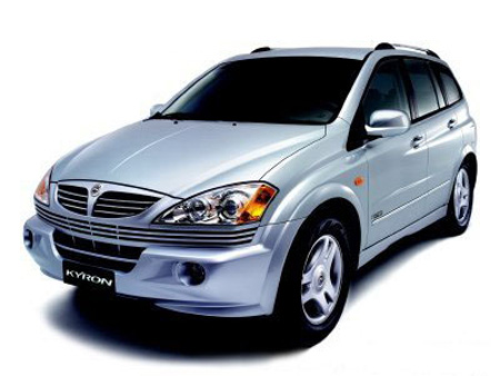 запчасти ssangyong kyron