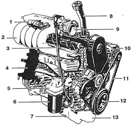 фольксваген транспортер т4 двигатель 2 4